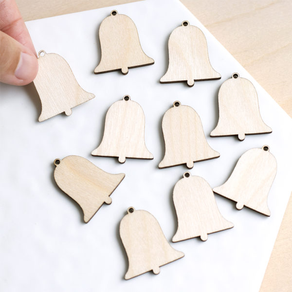 Mini Wooden bells