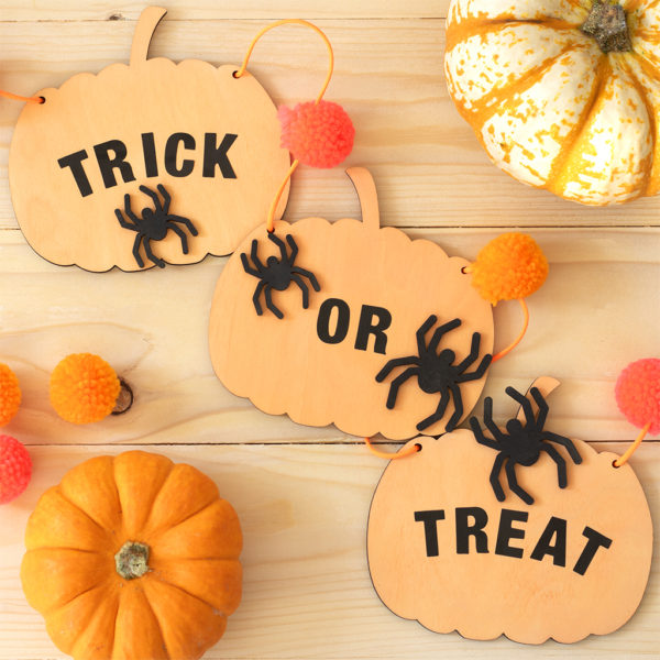Handmade Craft Pumpkin Bunting