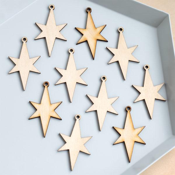 mini christmas stars