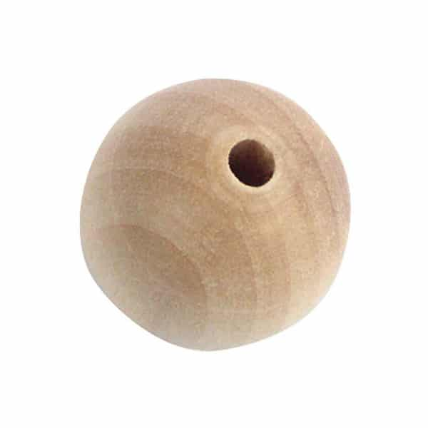 45mm wooden beads