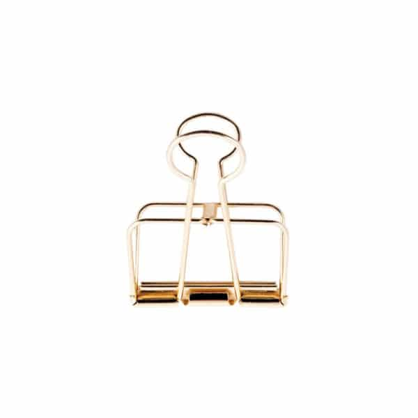 Gold wire clips 19mm