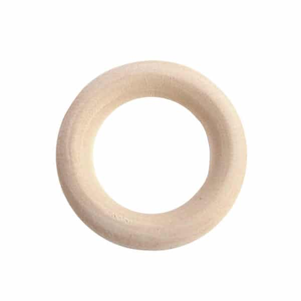 wooden ring 55mm
