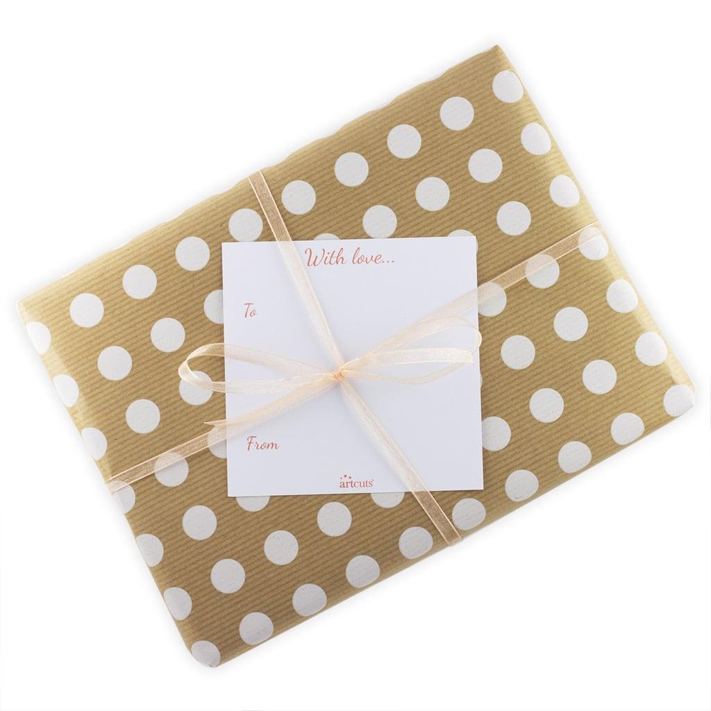Dotty Christmas Gift Wrap