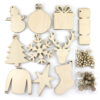 30 Piece Wooden Christmas Bundle