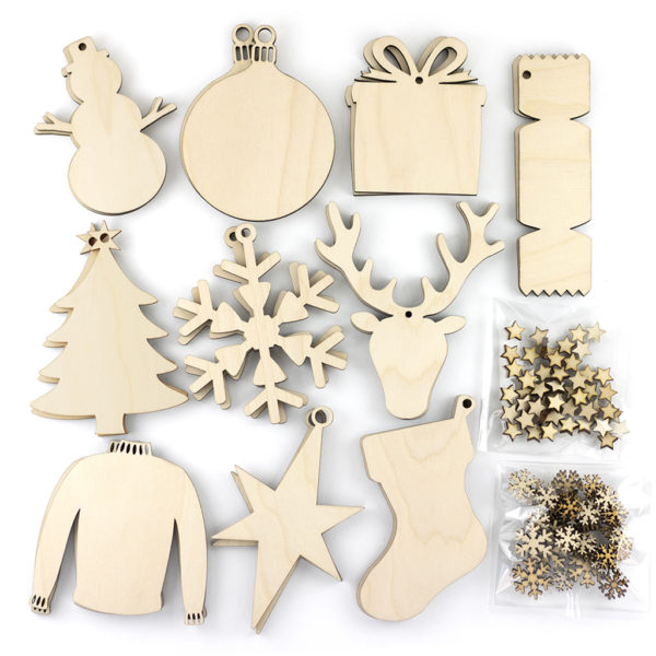 30 Piece Wooden Christmas Bundle