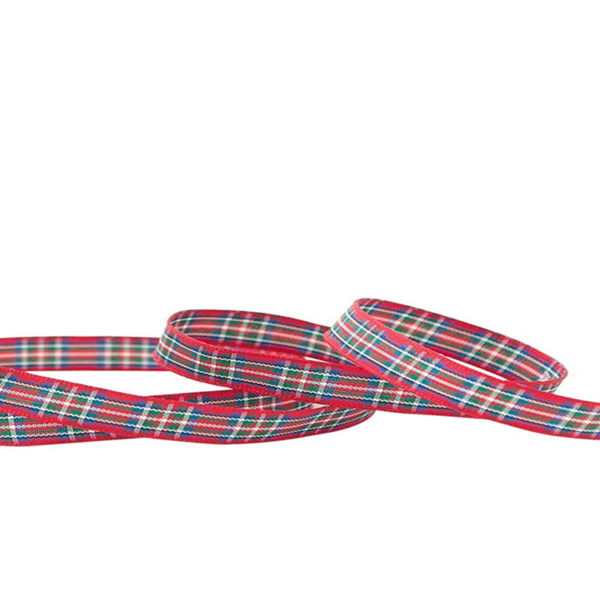 Royal Stewart 7mm Tartan Ribbon