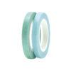 Washi Tape Green 7 Blue Glitter