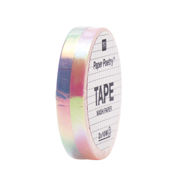 Washi Tape Lilac & Rose Metallic Mix