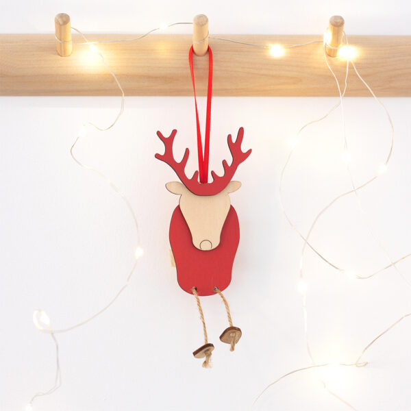 Ronnie the Reindeer Christmas Decoration