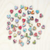 1.2cm Heart Embellishments Made With Liberty Fabrics