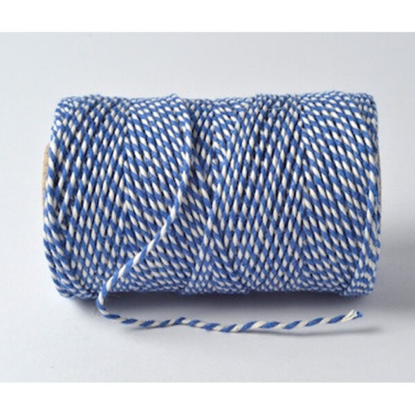 Bakers Twine Oxford Blue & White