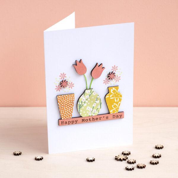 Flower Vase Card Workshop