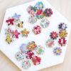 Liberty Fabric Flower Embellishment Set
