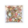 Wooden Flower Embellishment Set Liberty Fabrics