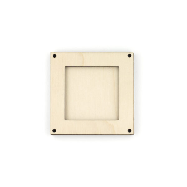 Wooden Square Frame Decoration
