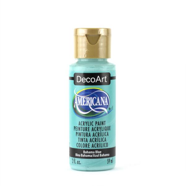decoart bahama blue acrylic paint