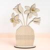 Floral Vase Cross Stich