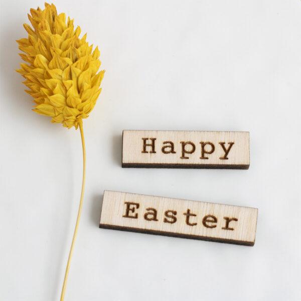 Happy Easter Sentiment Split