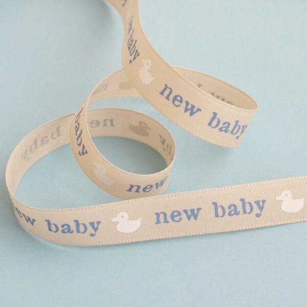 New Baby Blue Ribbon