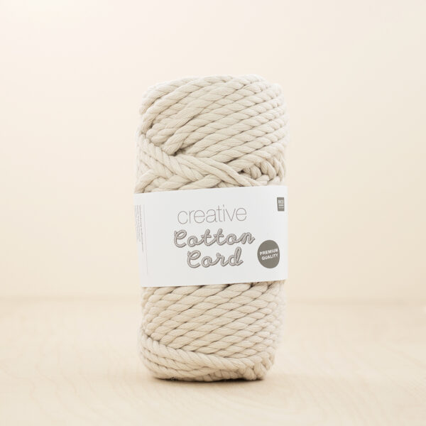 Cotton Cord Cream Rico