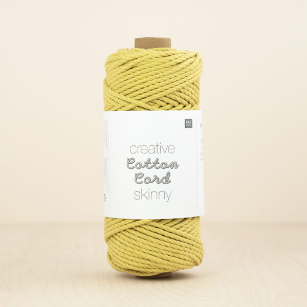 Yellow Cotton Cord Skinny