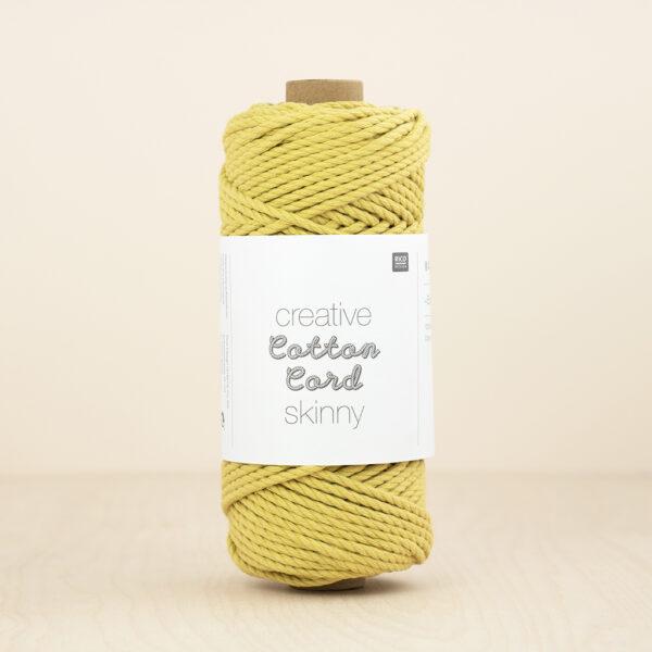Yellow Cotton Cord Skinny