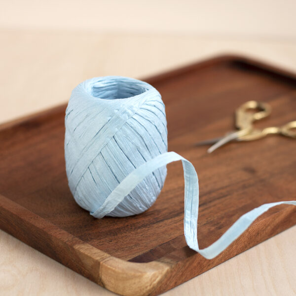 Light Blue Paper Raffia