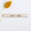 Best Dad Sentiment