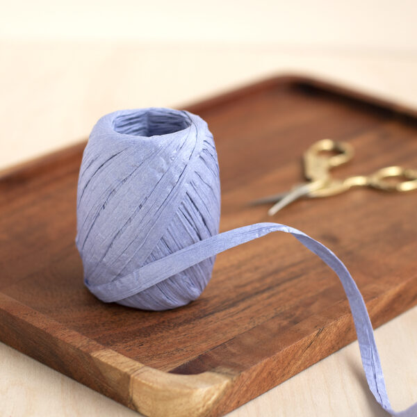 Lavender Paper Raffia