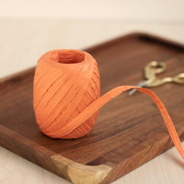 Paper Raffia Orange