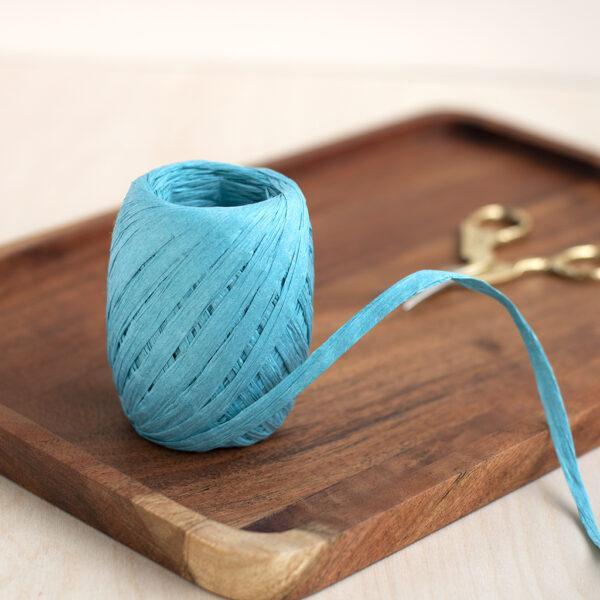 Turquoise 55 Paper Raffia