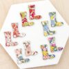 Mini Wooden Wellies Made With Liberty Fabrics