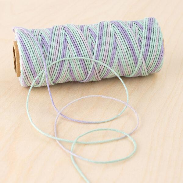 Lilac Pastels Hemp Cord