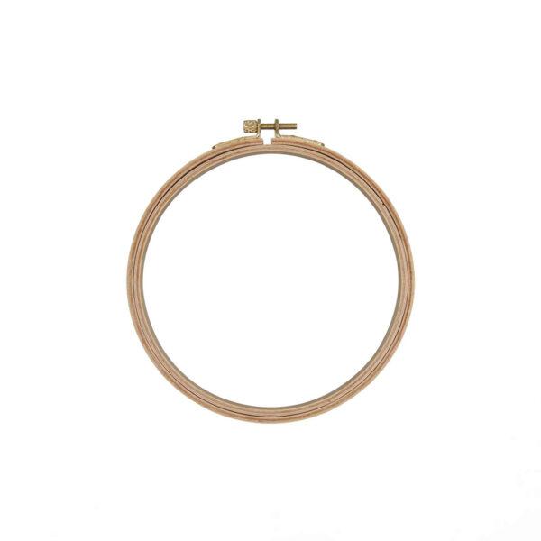 Wooden embroidery hoop 10.5