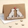 Dalmatian Card