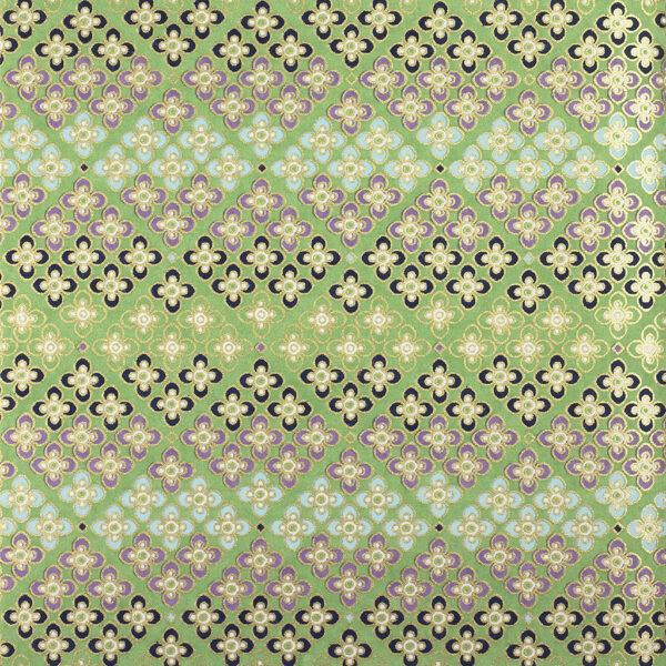 Green Flower Mosaic