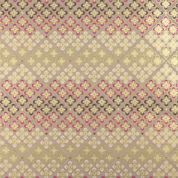 Pink Floral Mosaic