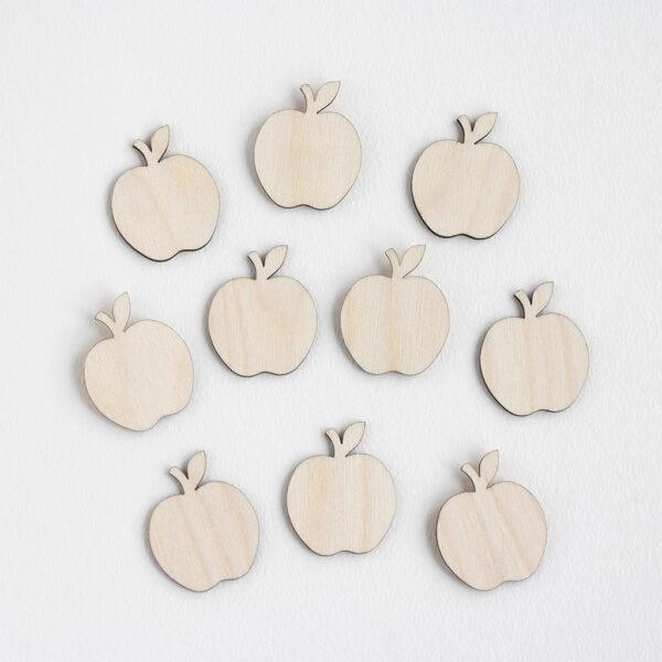 Mini Wooden Apples