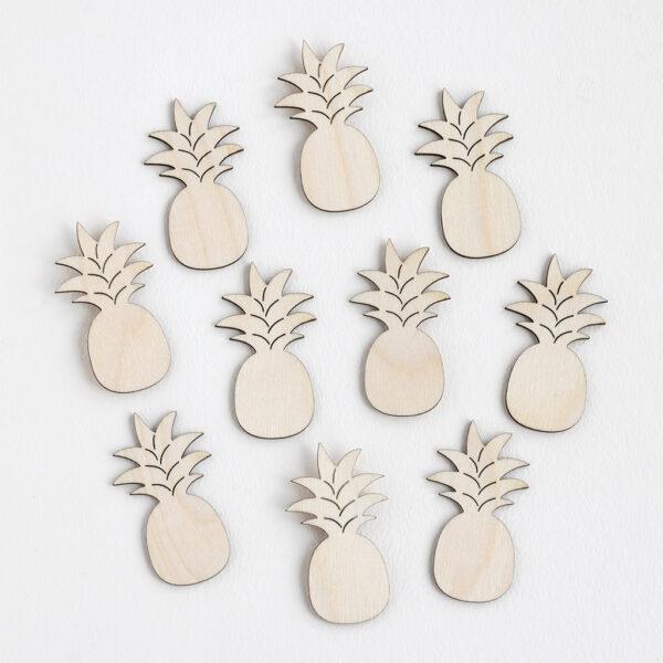 Mini Wooden Pineapples
