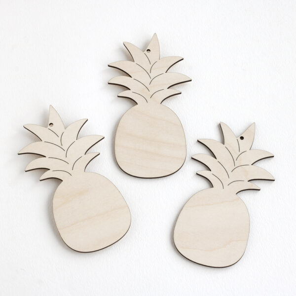 Wooden Pineapples