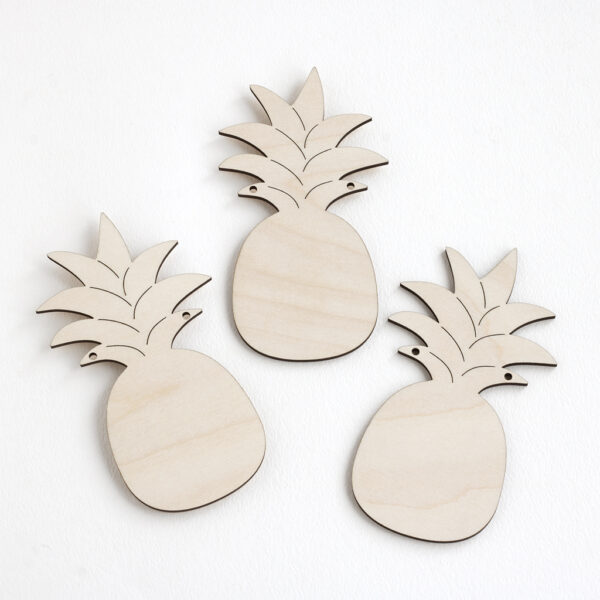 Wooden Pineapple Bunting