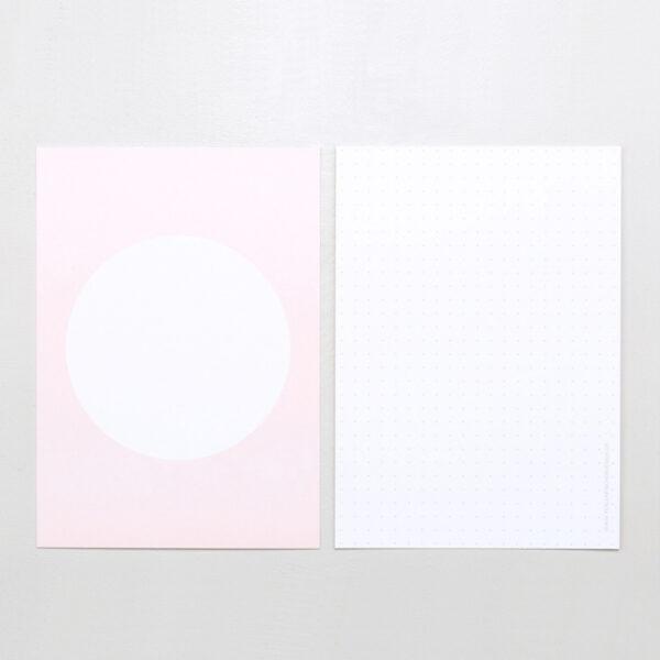 Postcard Pastel Pink