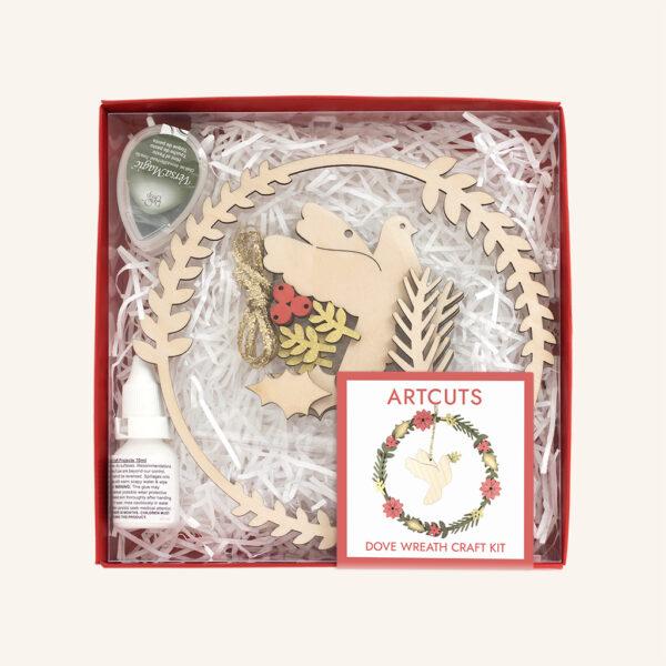 Peace Dove Wreath Craft Kit