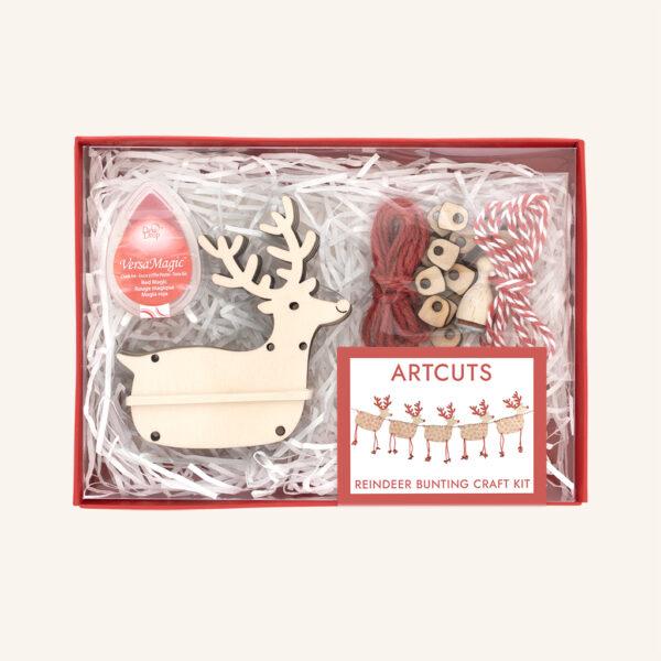 Reindeer bunting craft kit