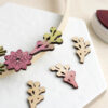mini wooden berry branches