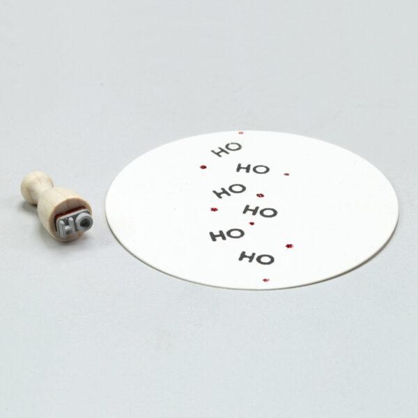 'Ho Ho Ho' Rubber Stamp